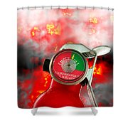 Fire Extinguisher  Shower Curtain