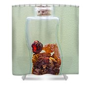 Fire Gems Shower Curtain