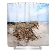 Fire Island Landscape Shower Curtain