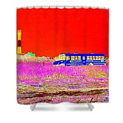 Fire Island Life Shower Curtain