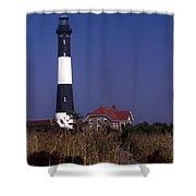 Fire Island Ny Lighthouse Shower Curtain