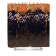 Fire River  Shower Curtain