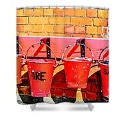 Fire Safety Shower Curtain