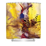 Fire Smoke And Brimstone II Shower Curtain