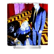 Fire Walk With Me Shower Curtain by Ludzska