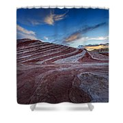 Fire Wave I Shower Curtain