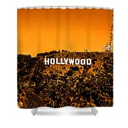 Fired Up Shower Curtain by Az Jackson