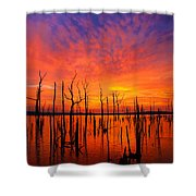 Fired Up Morn Shower Curtain