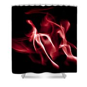 Firedragon Shower Curtain