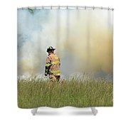 Firefighter 55 Shower Curtain