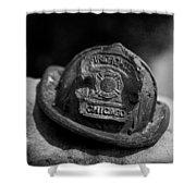 Firefighter  Shower Curtain