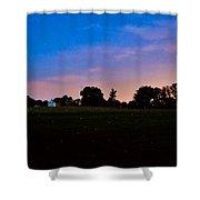 Firefly Fields Shower Curtain