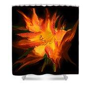Firelily Shower Curtain