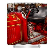 Fireman - Fire Engine No 3 Shower Curtain