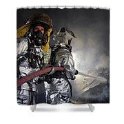Fireman Shower Curtain