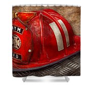 Fireman - Hat - A Childhood Dream Shower Curtain