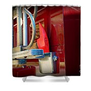 Fireman Hook And Ladder Shower Curtain