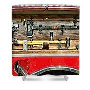 Fireman - Life Saving Tools Shower Curtain