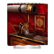 Firemen - An Elegant Job  Shower Curtain