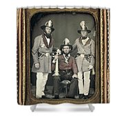 Firemen, C1855 Shower Curtain