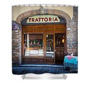 Firenze Trattoria Shower Curtain