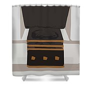 Fireside Without You Shower Curtain