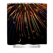 Firework Indian Headdress Shower Curtain