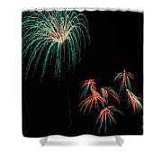 Fireworks 070414.214 Shower Curtain