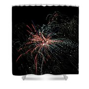 Fireworks 15 Shower Curtain