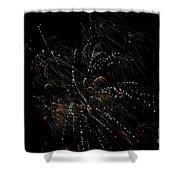 Fireworks 16 Shower Curtain