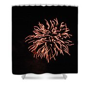 Fireworks 2 Shower Curtain by Scott Angus