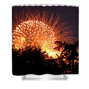 Fireworks 2014  5 Shower Curtain