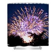 Fireworks 2014  6 Shower Curtain