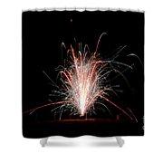Fireworks 24 Shower Curtain