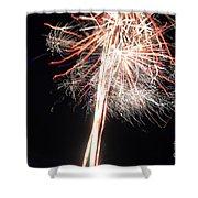 Fireworks 45 Shower Curtain