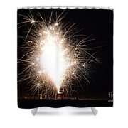 Fireworks 46 Shower Curtain