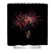 Fireworks 52 Shower Curtain