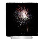 Fireworks 53 Shower Curtain