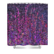 Fireworks Abstract Shower Curtain