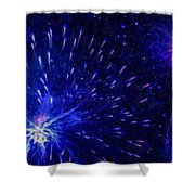 Fireworks At Night 1 Shower Curtain