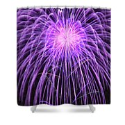 Fireworks At Night 2 Shower Curtain