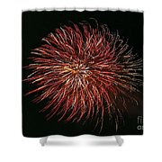 Fireworks At Night 5 Shower Curtain