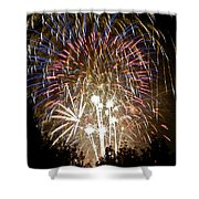 Fireworks Bursts Colors And Shapes 1 Shower Curtain