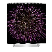 Fireworks Bursts Colors And Shapes 5 Shower Curtain