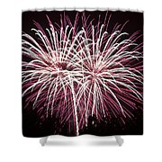 Fireworks Bursts Colors And Shapes 7 Shower Curtain
