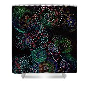 Fireworks Celebration By Jrr Shower Curtain by First Star Art
