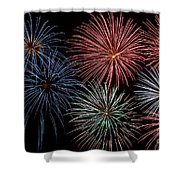 Fireworks Extravaganza 4 Shower Curtain