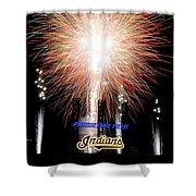 Fireworks Finale Shower Curtain