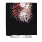 Fireworks For 4th Of July Shower Curtain