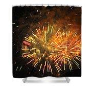 Fireworks IIi Shower Curtain